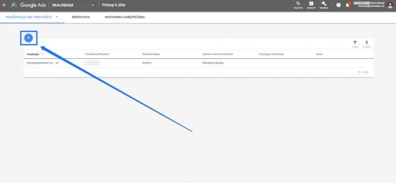Návod na prístup do účtu Google Adwords_2